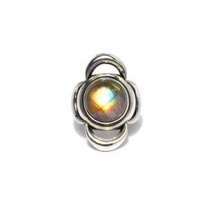 NWT Pamela Love Lunar Cross Ring Sterling Silver
